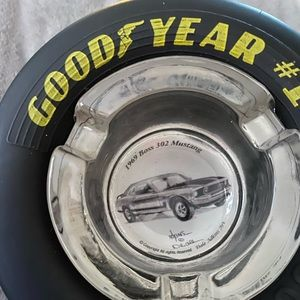 Goodyear #1 Eagle tire ashtray 69 Mustang
